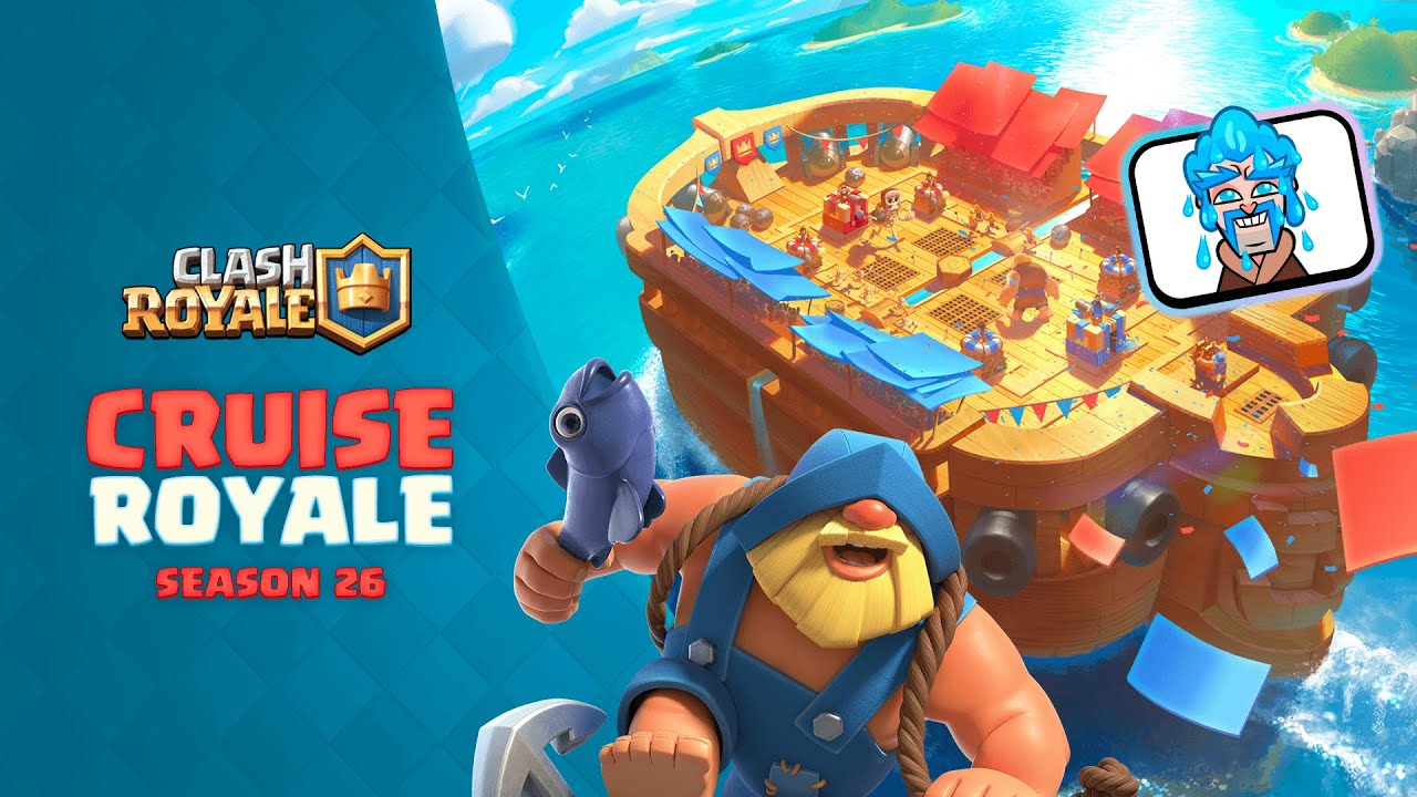 Clash Royale: Hop aboard the CRUISE ROYALE 🚢👑 (New Season!)