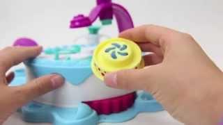 Пластилин Play Doh (Плей До)! Делаем торт! Видео инструкция!(Пластилин... Сколько радости дарит он детям! Сколько забавных и интересных поделок можно вылепить с помощью..., 2014-08-22T18:56:23.000Z)