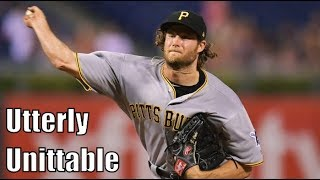 Gerrit Cole Showing Off His Slider
