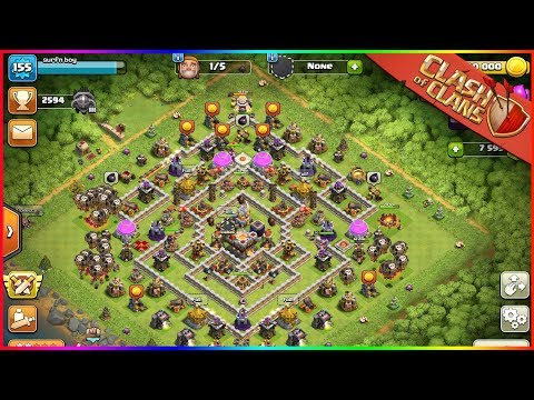 FASTEST TIME MAXING TOWN HALL 11   Clash Of Clans Max TH11