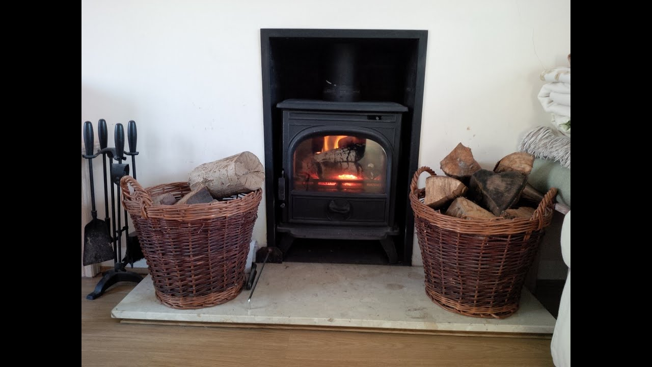 how to use a wood burning stove superhome59 part 13 youtube