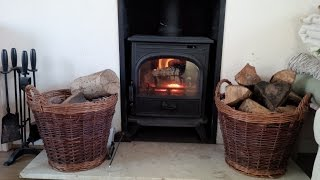 How to use a Wood Burning Stove Superhome59 part 13