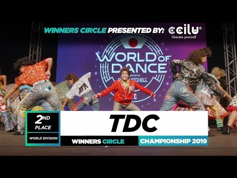 TDC  2nd Place World Division  Winners Circle  World of Dance Championship 2019  WODCHAMPS19