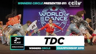 TDC | 2nd Place World Division | Winners Circle | World of Dance Championship 2019 | #WODCHAMPS19