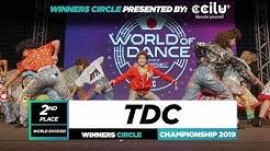 TDC | 2nd Place World Division | Winners Circle | World of Dance Championship 2019 | #WODCHAMPS19