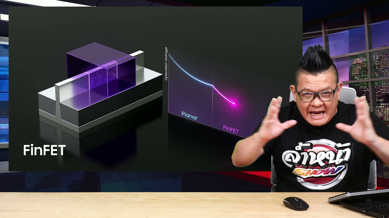 Download Samsung โชว์เทคโนโลยีใหม่ในการผลิตชิป ระดับ 3nm และ 2nm ในอีก 5 ปีข้างหน้า