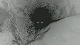 US releases video of ' mother of all bombs ' ( MOAB ) strike in Afghanistan on April 13, 2017