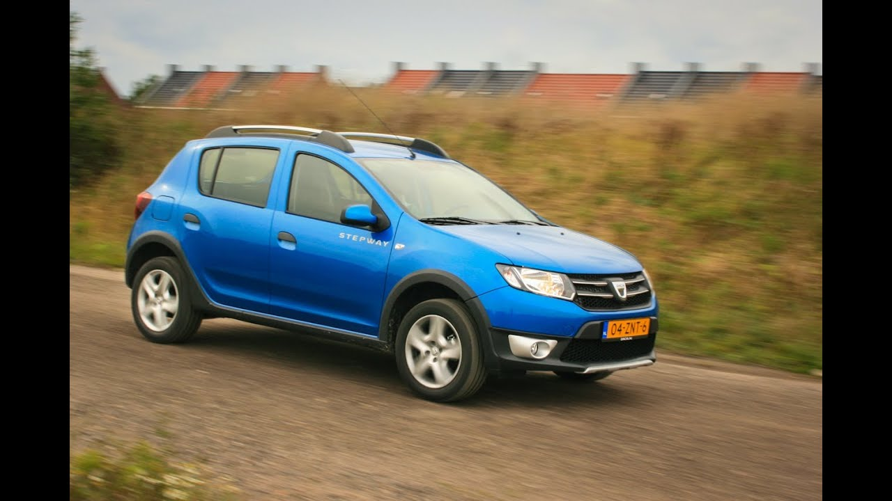 dacia sandero stepway tce 90 2013 review youtube. Black Bedroom Furniture Sets. Home Design Ideas