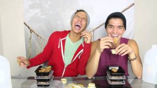 CHICKEN NUGGET CHALLENGE ft. ALEXWASSABI