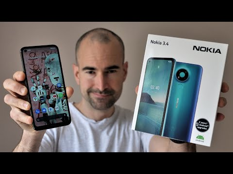 Nokia 3.4 | Unboxing & Full Tour | £129 surprise!