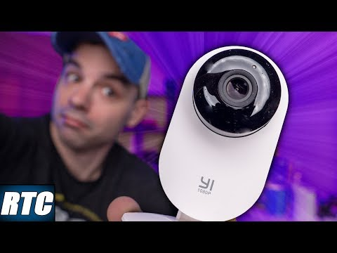 Reviewing the CHEAPEST Home Security Camera on Amazon! $30 Yi Home Camera!