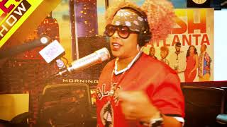 DJ HeadKrack and Da Brat Kill It in This Freestyle Flow N Go | Rickey Smiley Morning Show