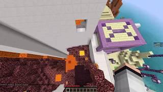 YÜKSELEN SUDAN KAÇTIK ⛲🌊 - Minecraft Piramit Parkur