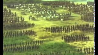 Битва при Ватерлоо видеоряд из одноименного фильма Сергея Бондарчука)