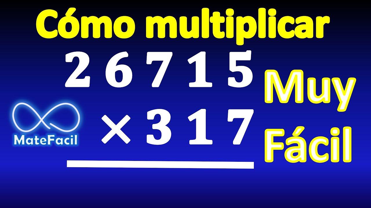 5 Cómo Realizar Una Multiplicación Por Tres Cifras Paso A Paso Ejercicio Resuelto Youtube