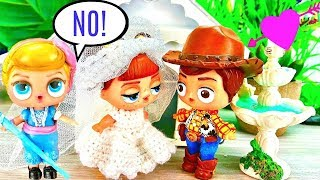 Bo Peep Stops Woody from Marrying Gabby Gabby