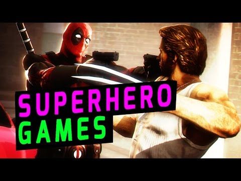 Top 10: Superhero Video Games