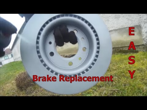Peugeot 308 ph2 How To Replace Front Brake Disc And Pads