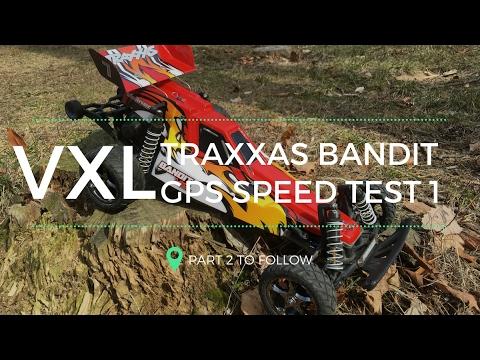 traxxas-bandit-vxl---rc-car-gps-speed-test-part-1