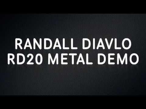 RANDALL DIAVLO RD20 - METAL DEMO (SCARPOINT COVER)
