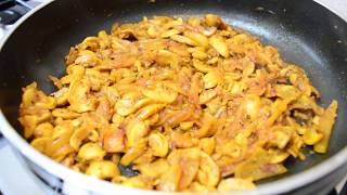 Spicy Masala Mushrooms | Indian Cooking Recipes | Cook with Anisa | #Recipes