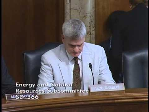 Dr. Cassidy chairs ENR Subcommittee on National Parks