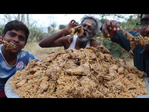 QUAIL BIRYANI !!! Prepared by my Daddy Arumugam / Village food factory