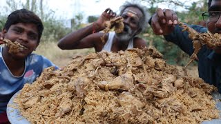 QUAIL BIRYANI !!! Prepared by my Daddy Arumugam / Village food factory