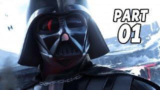 Let's Play Star Wars Battlefront Gameplay German Deutsch Part 1 - Palpatine, Vader, alle Modi/Maps