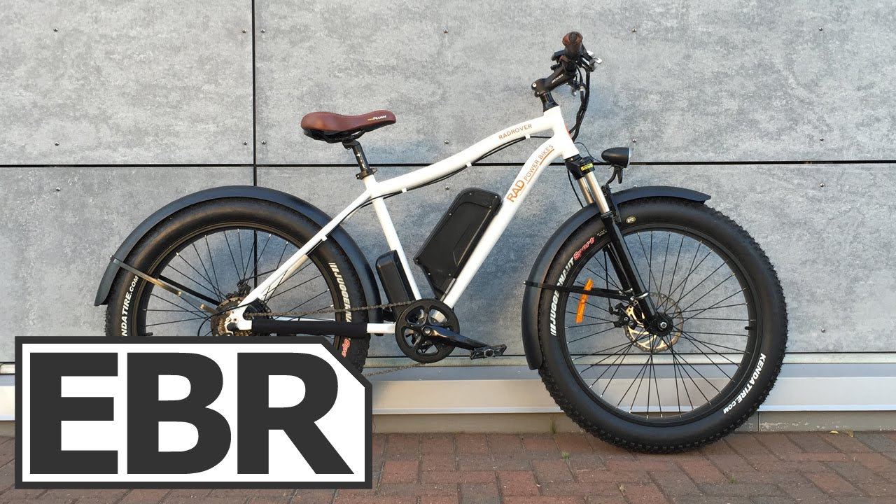 629b24806dc 2015 Rad Power Bikes RadRover Video Review. ElectricBikeReview.com