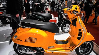 Top 8 New Vespa Scooters In 2019 Most Popular Scooters By Vespa 2019