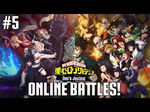 My Hero Academia: One\'s Justice Online Gameplay Battles with Customization #5