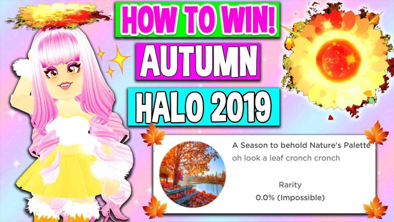 Tips Roblox Royale High Princess School 10 Apk - How To Win The Brand New Autumn Halo In Royale High Roblox Royale High Halo Interview