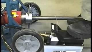BID ON EQUIPMENT: Item 187303 - NIM-COR Roll Restorer for Damaged Paper Roll Cores