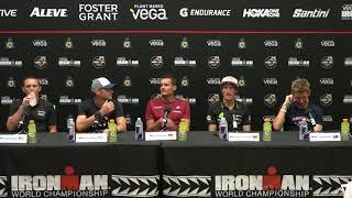 2019 Vega IRONMAN World Championship Pro Men's Press Conference