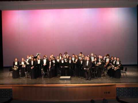Mason County Central HS Symphonic Winds, Simple Gifts by Frank Ticheli