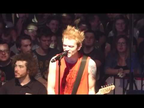 Sum 41 - With Me (Deryck B-stage) - Live @ Ancienne Belgique, Brussels, Belgium 08/03/2017
