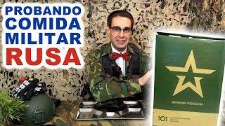 Probando Comida Militar Rusa: Menú diario #3 de 2 Kilos
