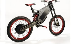 stealth bomber electric bike and adaptto 120km h