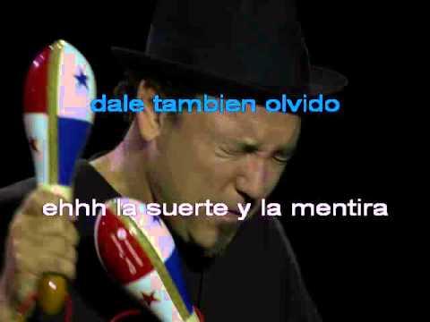 Ruben Blades Juan Pachanga Karaoke