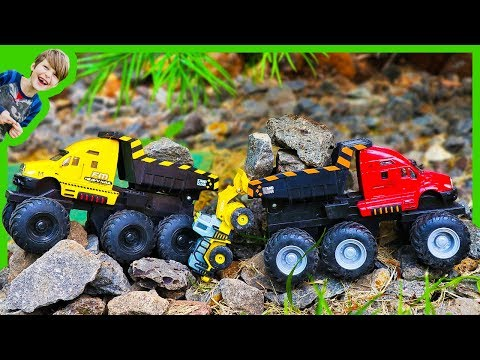Monster Trucks for Children With Dump Truck Beds