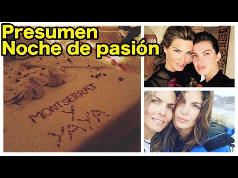 Yaya Kosikova y  Montserrat Oliver presumen NOCHE DE PASIÓN