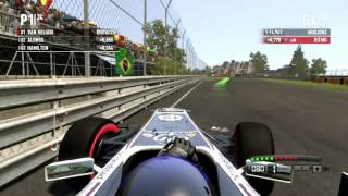 F1 2011 Gameplay Ita PC Gara#7 Gran Premio Montreal -Williams in difficoltà-