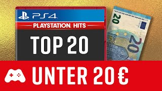 20 gute PS4 Spiele unter 20€! ► Playstation 4 Hits