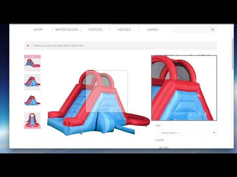 Шаблон интернет магазин детских товаров (opencart)