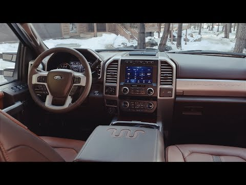 2020 Ford F-250 Super Duty King Ranch Interior