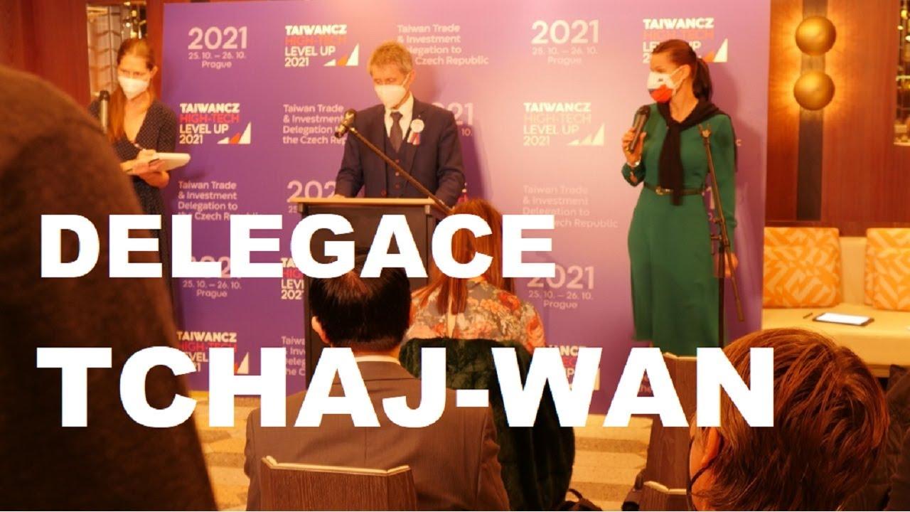 Tchaj-wanská delegace v Praze