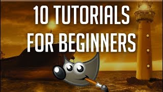 Top 10 Things Beginners Want to Know How to Do | GIMP Mega Tutorial