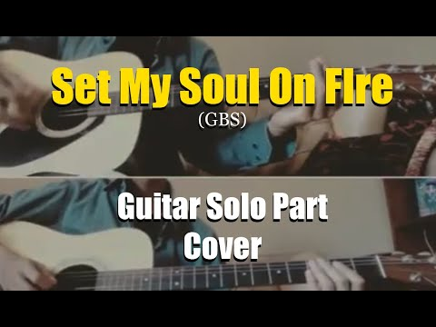 Gugun blues shelter - set my soul on fire (acoustic) solo part cover