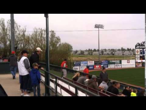 Evaluating Sky Sox hot dogs, stadium